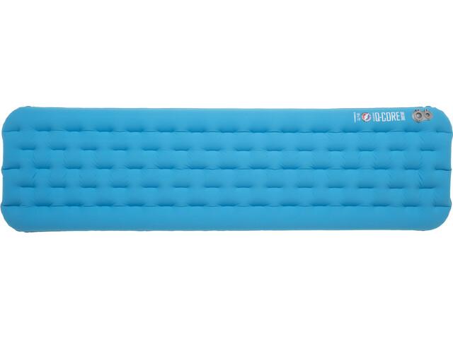 Big Agnes Insulated Q-Core Deluxe Slaapmat Regular 51x183cm, turquoise
